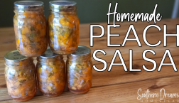 Homemade Peach Salsa Canning Recipe